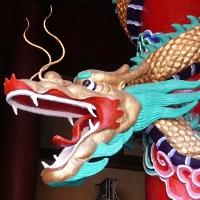 Chinesischer Drachen ohne Feuer - © Cornerstone / pixelio.de
